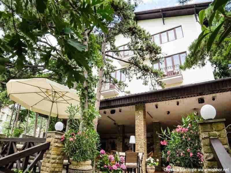 Отель в Мисхоре